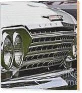 Chevy Impala Wood Print
