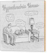 New Yorker December 24th, 2007 Wood Print