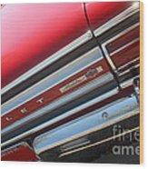 65 Malibu Ss 7827 Wood Print
