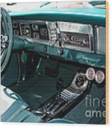 65 Plymouth Satellite Interior-8499 Wood Print