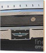 65 T-bird Grill-7875 Wood Print