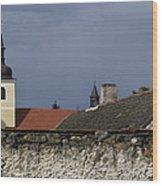 668. Lounovice Pod Blanikem Wood Print