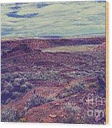 669 Sl Large  Kiva Wood Print