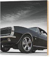 '67 Camaro Rs Wood Print
