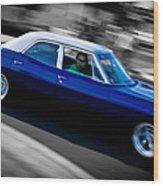 67 Chev Impala Wood Print by Phil 'motography' Clark