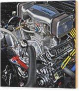 '67 Chevy Camaro Wood Print