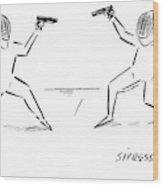 New Yorker November 27th, 2006 Wood Print