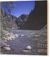 671 Sl Big River Wood Print