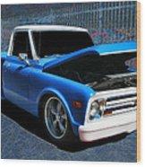 '68 Chevy Stepside Wood Print
