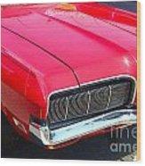 '68 Mercury Cougar Wood Print