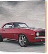 69 Camaro Wood Print