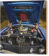 69 Mustang Wood Print