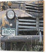 698 Cvy Wood Print
