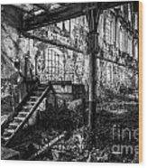 Abandoned Sugar Mill Wood Print