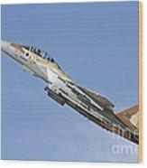 An F-15i Raam Of The Israeli Air Force Wood Print