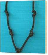 Aphrodite Melainis Necklace Wood Print