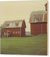 Barns Wood Print