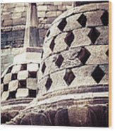 Borobudur Temple Wood Print