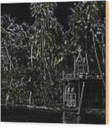 Church Located Next To A Canal Wood Print