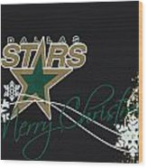 Dallas Stars Wood Print