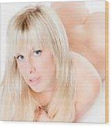 Erotic Nude Wood Print