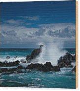 Hookipa Maui North Shore Hawaii Wood Print