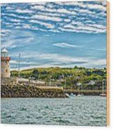 Howth Harbour Wood Print