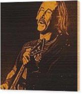 Jimmy Buffet 1975 Wood Print