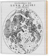 Johannes Kepler (1571-1630) Wood Print