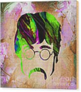 John Lennon Collection Wood Print