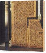 La Alhambra Wood Print