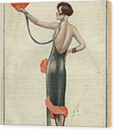 La Vie Parisienne  1925  1920s France Wood Print