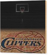 Los Angeles Clippers Wood Print