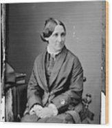 Lucy Hayes (1831-1889) Wood Print