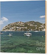 Majorca Wood Print
