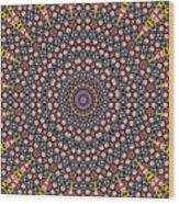 Mandala Wood Print
