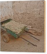 Mud Brick Village Wood Print