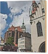 Munich Germany Wood Print