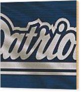 New England Patriots Uniform Wood Print