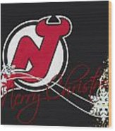New Jersey Devils Wood Print