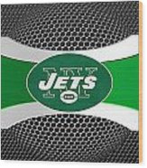New York Jets Wood Print by Joe Hamilton