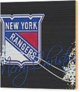 New York Rangers Wood Print