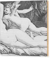 Nude Art Wood Print