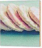 Pink Cookies Wood Print
