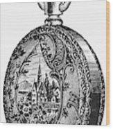 Pocket Watch, 19th Century Wood Print
