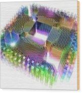 Quantum Computer Wood Print