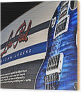 Rock N Roll Collection Wood Print