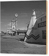 Route 66 - Tucumcari New Mexico Wood Print