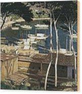 Rusi�ol I Prats, Santiago 1861-1931 Wood Print