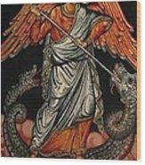 Saint Michael Wood Print
